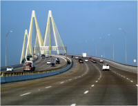 The Fred Hartman Bridge