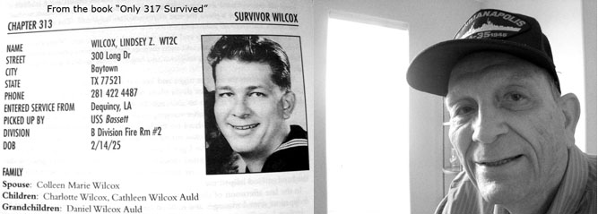 "Lindsey Wilcox - From the book ""Only 317 Survivied"""