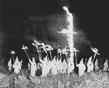 Ku Klux Klan rally circa 1923 in the South - not specifically Goose Creek and is strictly representative of the Klans activities.  No photos are available of the Goose Creek #4 Klan at this time.